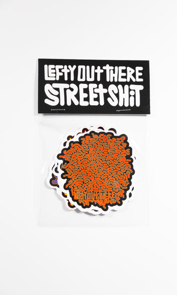 Street Shit Sticker Pack by LeftyOutThere