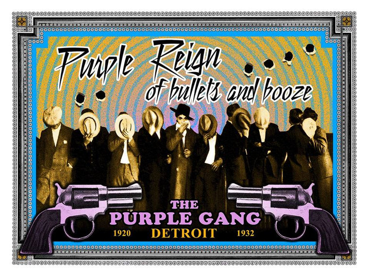 Purple Reign // Loaded Guns 2 Exclusive Print by Mark Arminski