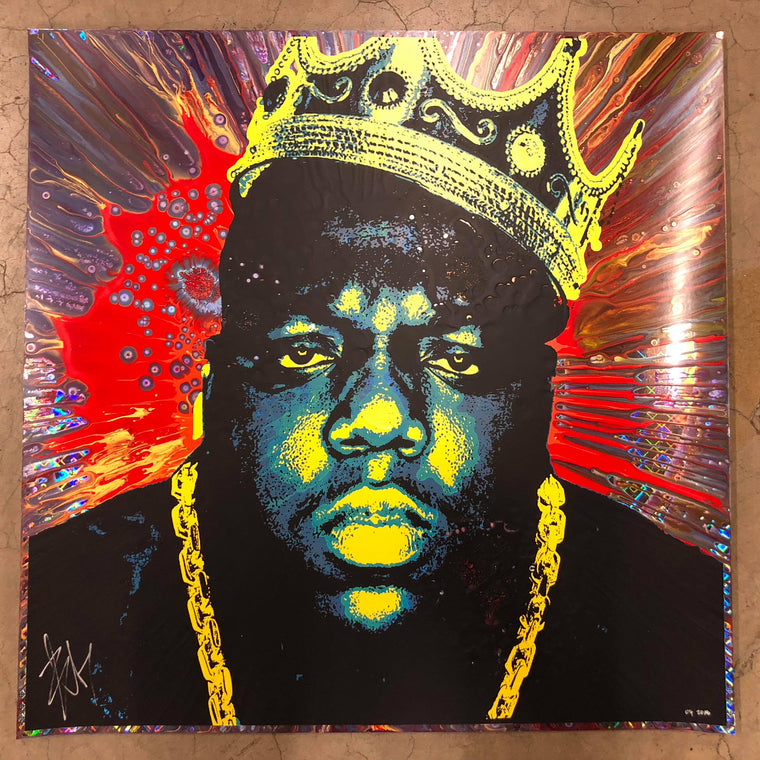 Biggie (9) // Loaded Guns 2 Exclusive Print by Blunt Graffix