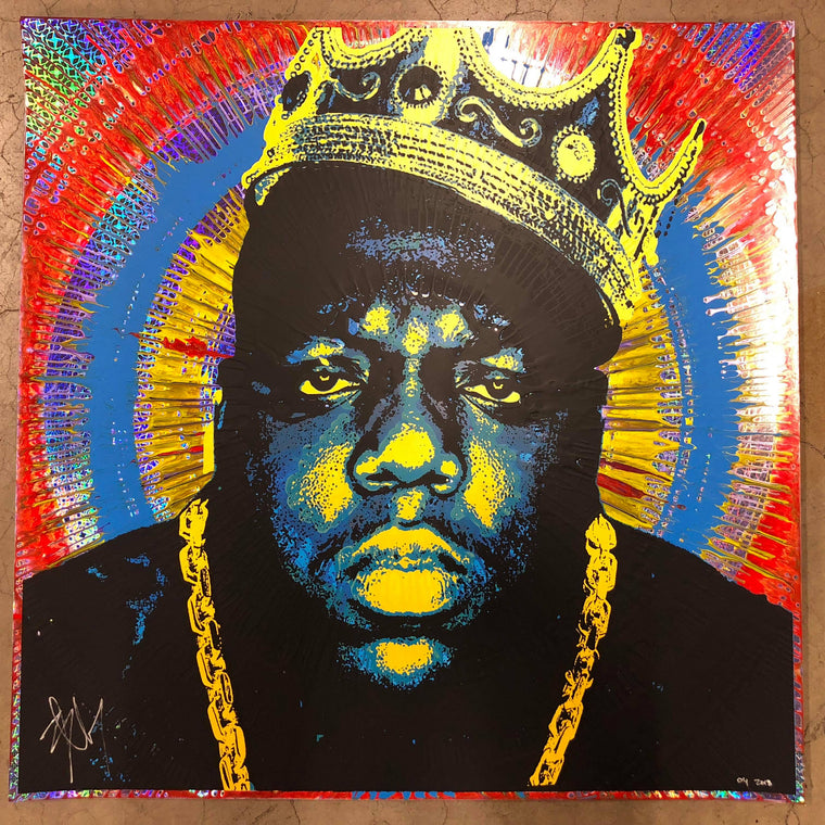 Biggie (2) // Loaded Guns 2 Exclusive Print by Blunt Graffix