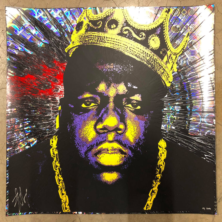 Biggie (10) // Loaded Guns 2 Exclusive Print by Blunt Graffix