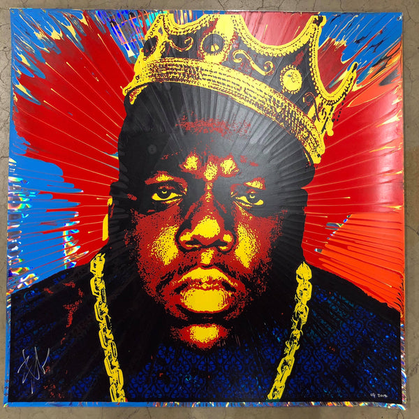 Biggie (3) // Loaded Guns 2 Exclusive Print by Blunt Graffix
