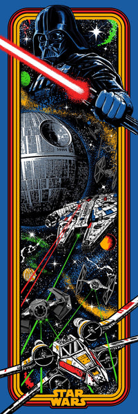 Star Wars Arcade Color Print by Jake.psd