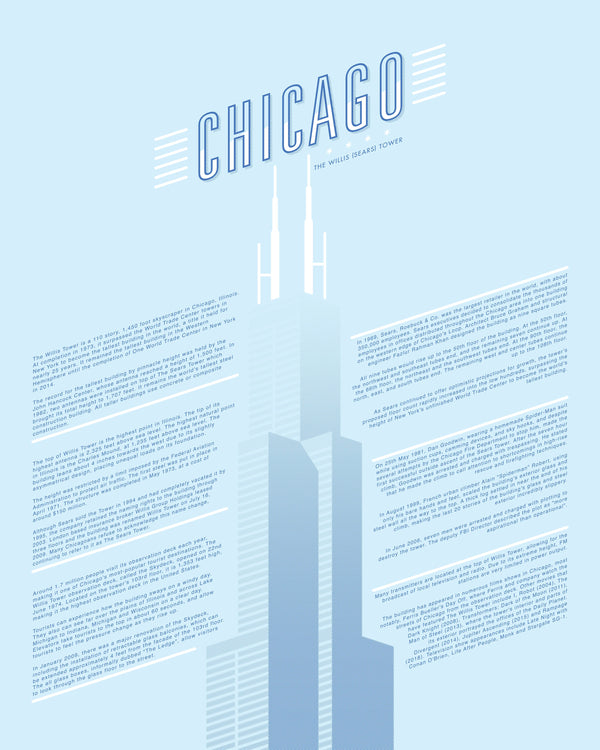 Chicago Willis (Sears) Tower by Sean Mort