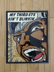 Third Eye Original Wood Cut by R6D4