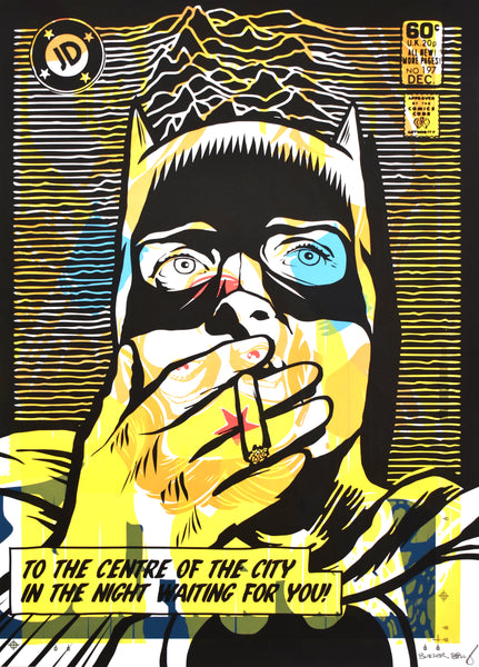 Post Punk Dark Night variant 3 by Butcher Billy