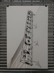 Steppenwolf Theatre Print by Kate Lewis