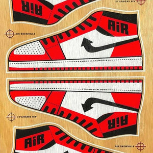 """Air Skewville"" 2oth Year Editions by Skewville"