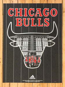 """Officially Licensed Chicago Bulls '19 - '20 Statement"" by Zissou Tasseff-Elenkoff"