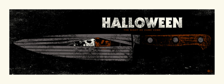 Halloween Knife Print by Chris Garofalo