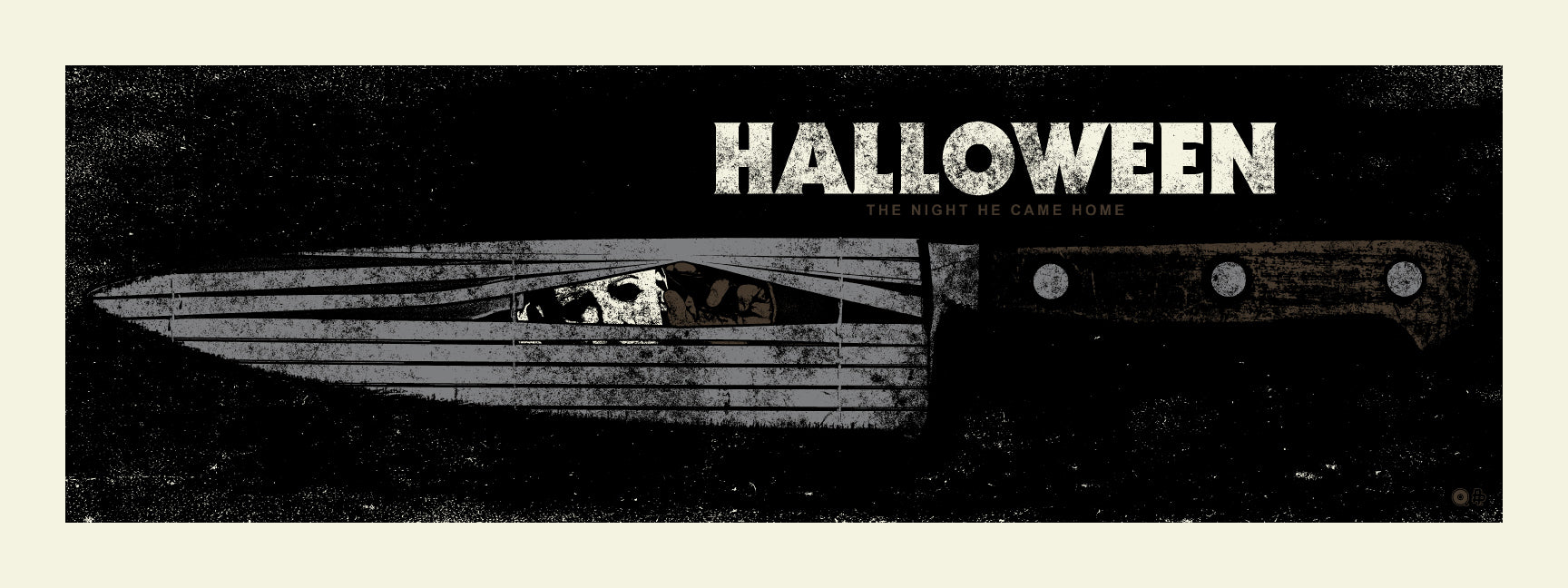Halloween Knife Variant Print by Chris Garofalo