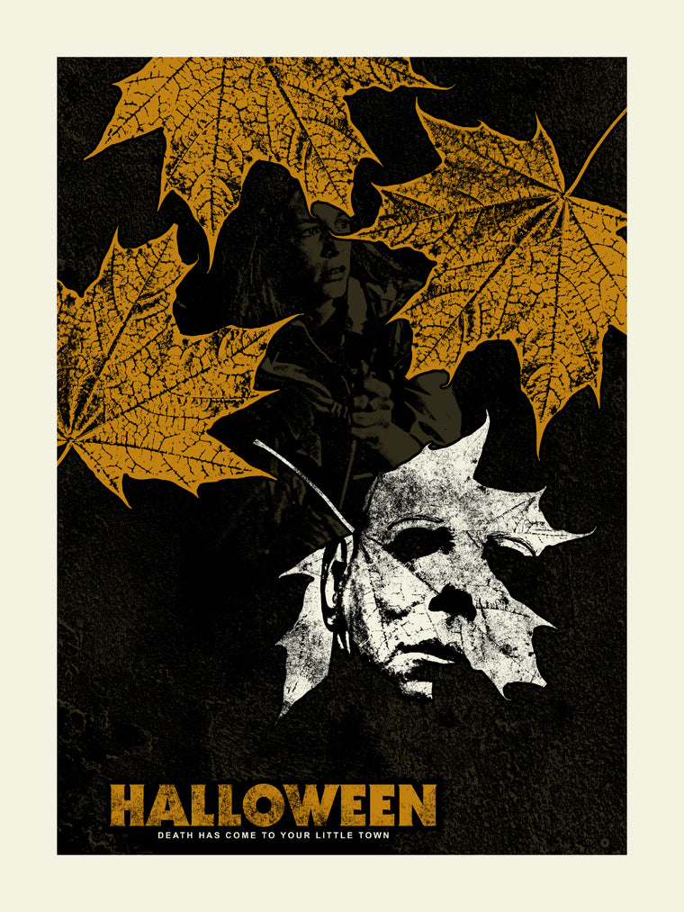 Halloween Leaf Variant Print by Chris Garofalo