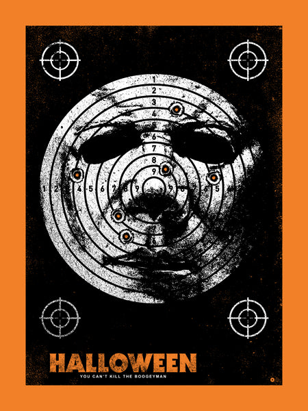 Halloween Target Print by Chris Garofalo