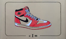 "Load image into Gallery viewer, ""Air Jordan - 1985 I Foil Variant"" by Zissou Tasseff-Elenkoff"