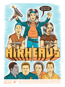 """Airheads // Loaded Guns 2 Exclusive"" by Mike Merg"