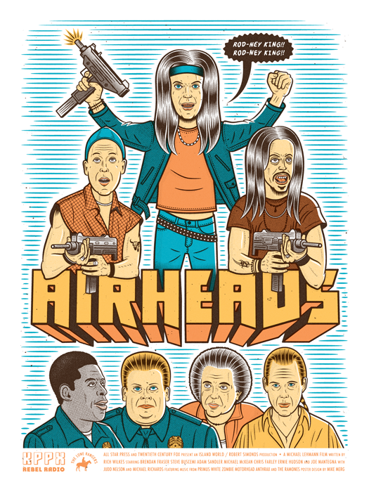 Airheads // Loaded Guns 2 Exclusive Print by Mike Merg