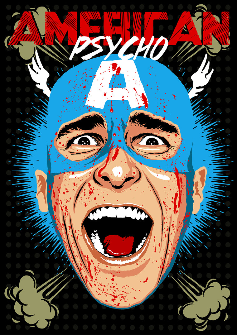American Psycho - Captain America by Butcher Billy