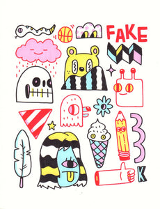 """Fake"" by Blake Jones"