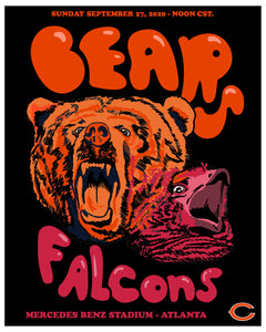 "Game 3: ""Official Falcons VS Bears"" by Bianca Pastel"