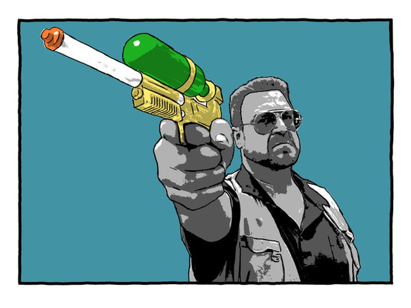 You are entering a world of pain my friend! Variant // Loaded Guns 2 Exclusive Print by Brian Bojo