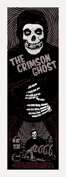The Crimson Ghost Print by Chris Garofalo