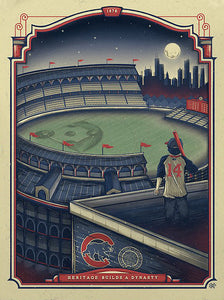 """Cubs Win"" by Half Hazard Press"