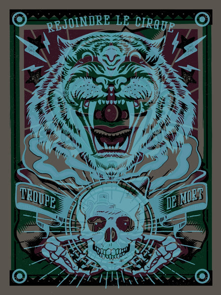 Roaring Laughter Print by Half Hazard Press & Christopher Gray