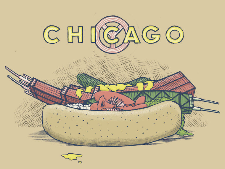 Chi Dog Print by Phineas X Jones