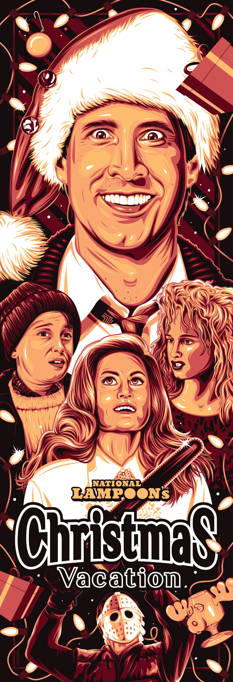 Christmas Vacation Print by Dave Stafford