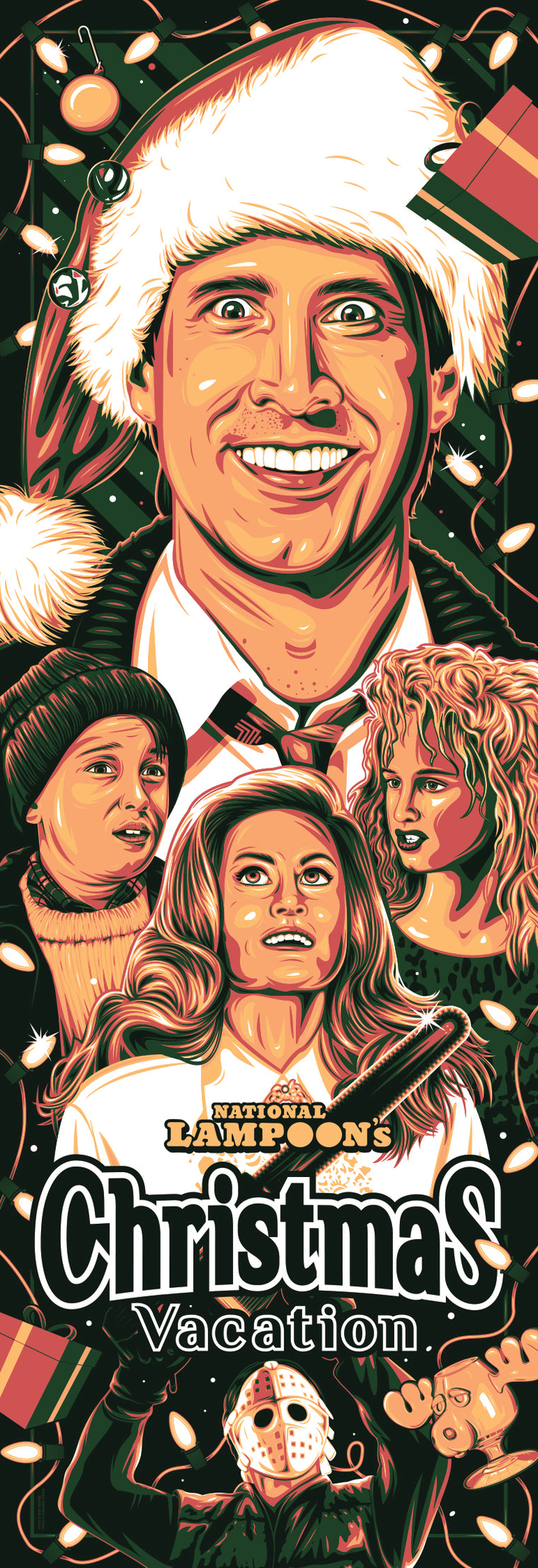Christmas Vacation Variant Print by Dave Stafford