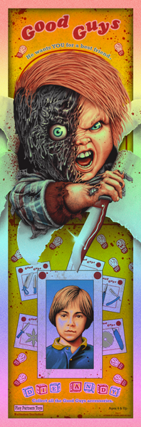Child's Play Variant Print by Steven Holliday