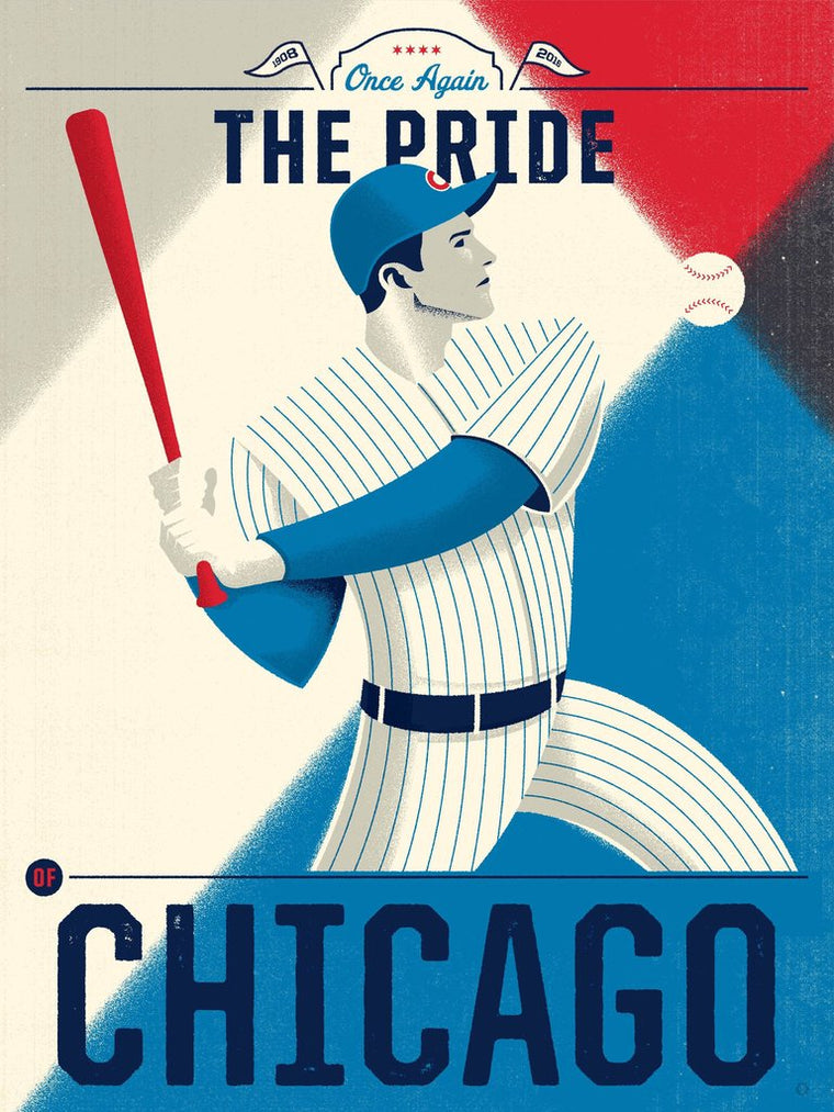 Pride of Chicago Print by Delicious Design League