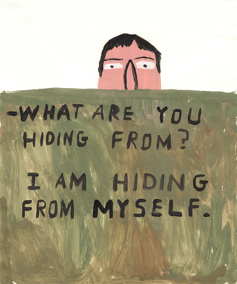 What Are You Hiding From? Original by Don't Fret