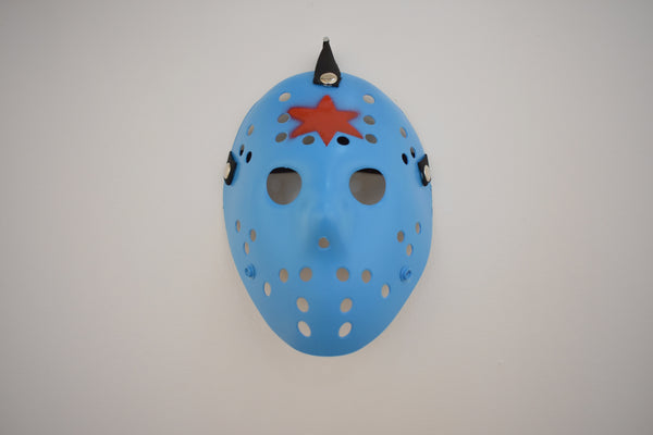 Jason Voorhees Chicago Mask Blue by Steven Holliday