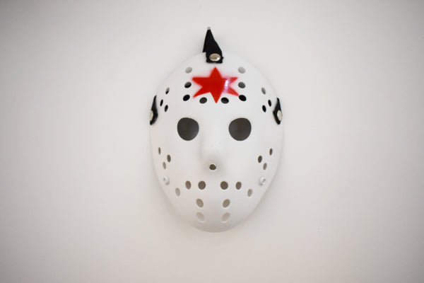 Jason Voorhees Chicago Mask White by Steven Holliday