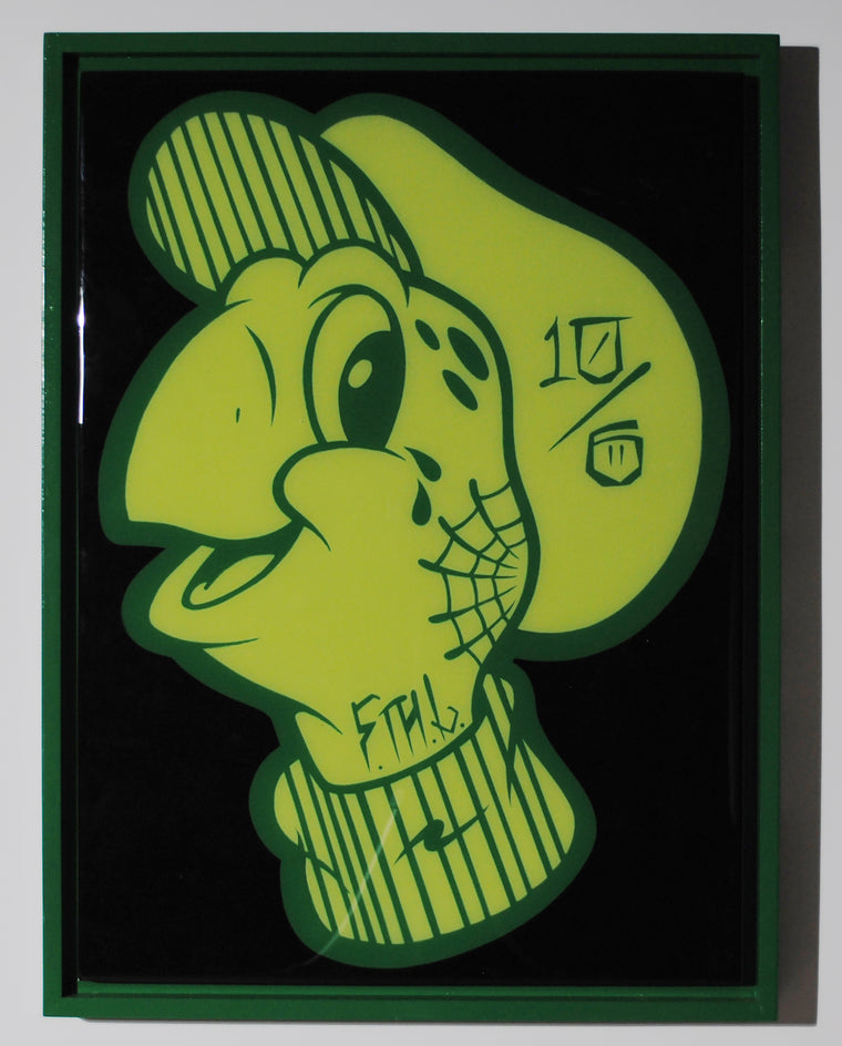 Tippy Original Wood Cut by R6D4