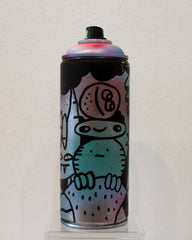 Devil Horns Spray Can by Blake Jones