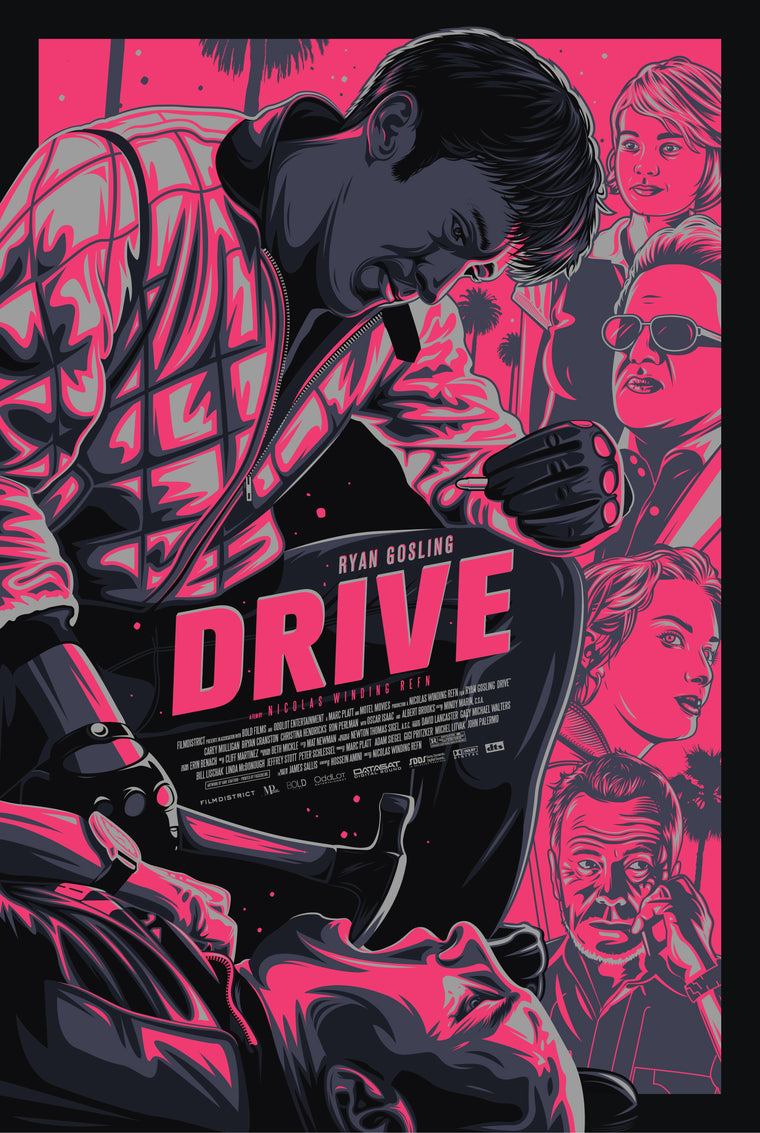 Drive // Loaded Guns 2 Exclusive Print by Dave Stafford