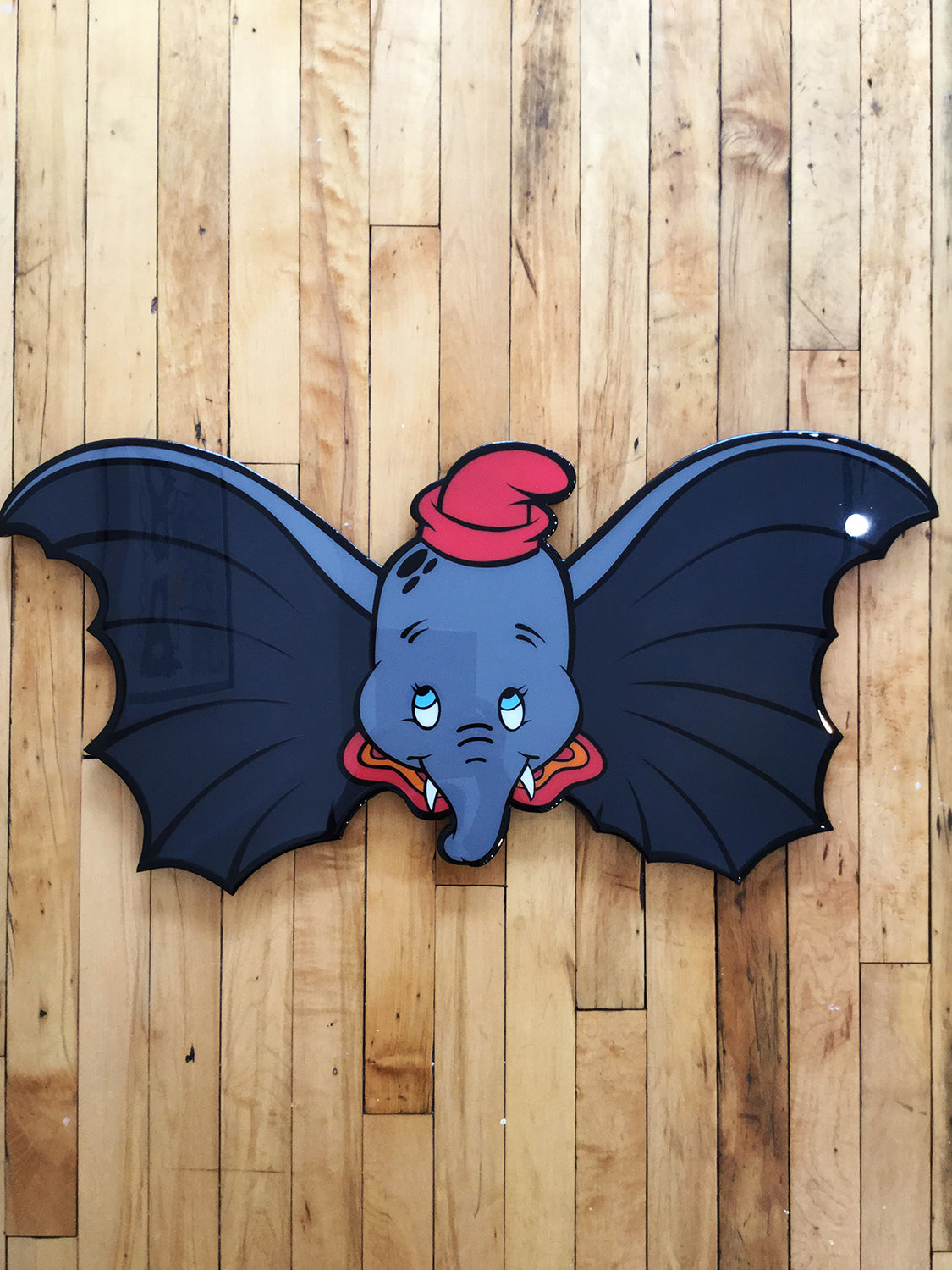 Dumbo Original Wood Cut by R6D4
