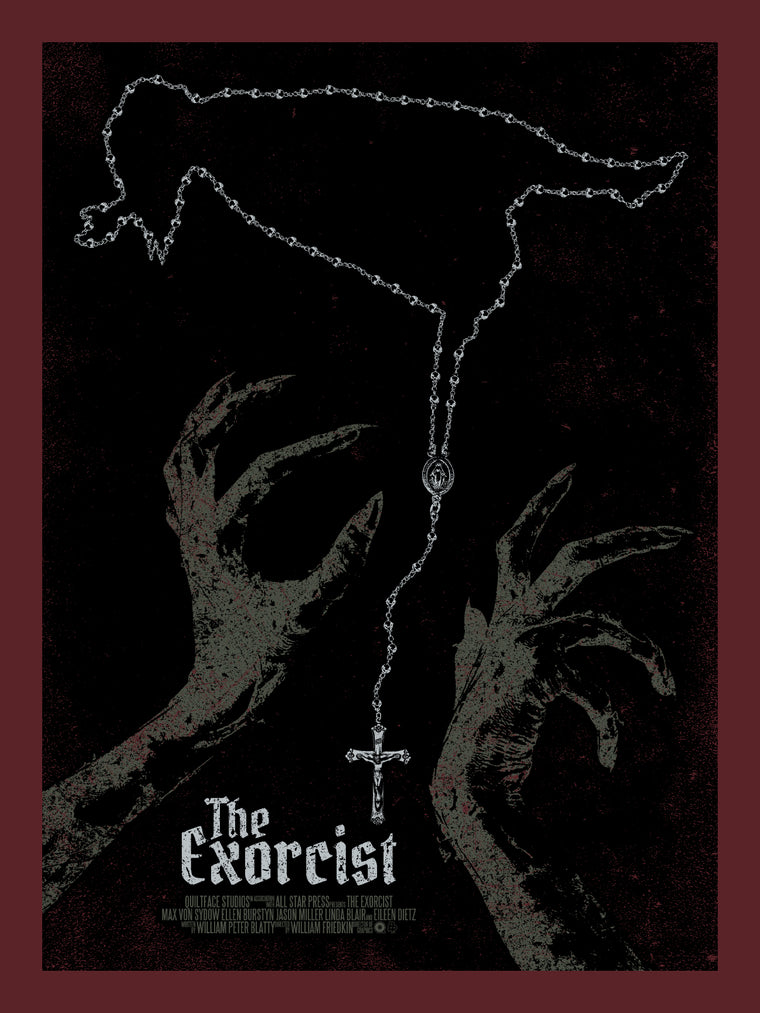 The Exorcist Print by Chris Garofalo