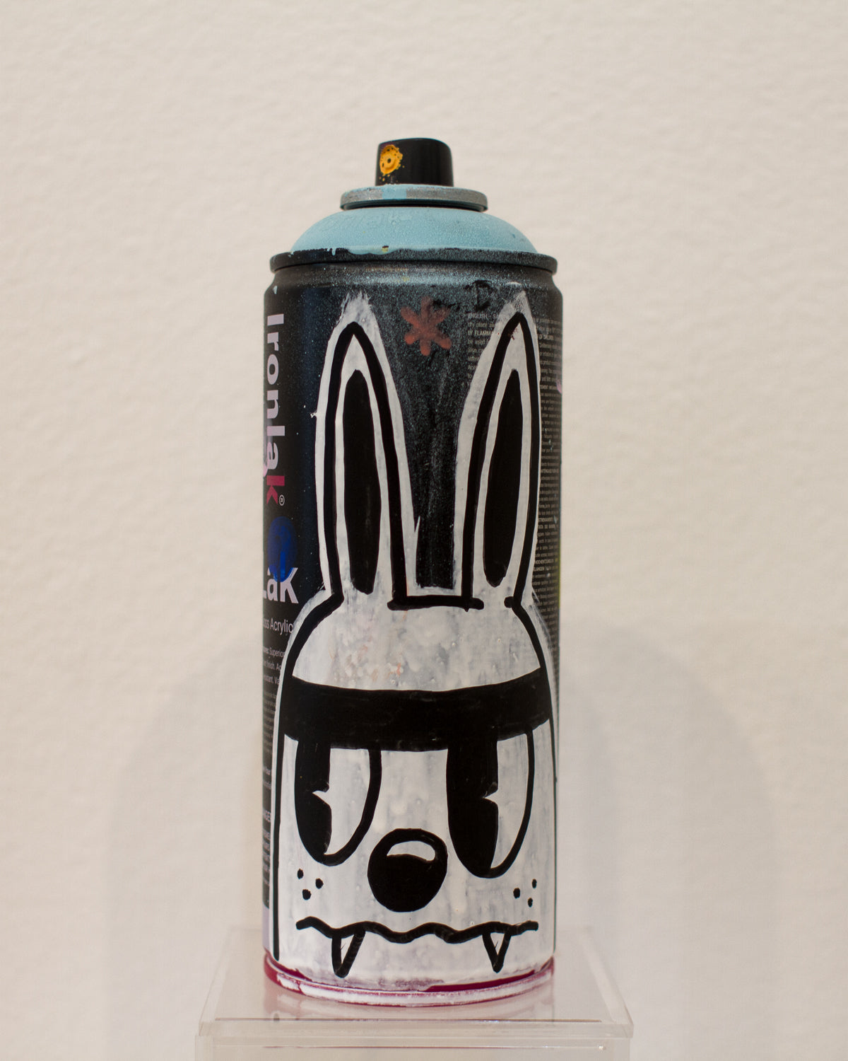 Evil Bunny Spray Can by Blake Jones