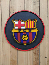 Load image into Gallery viewer, FC Barcelona Plaque by Isabelle Tasseff-Elenkoff