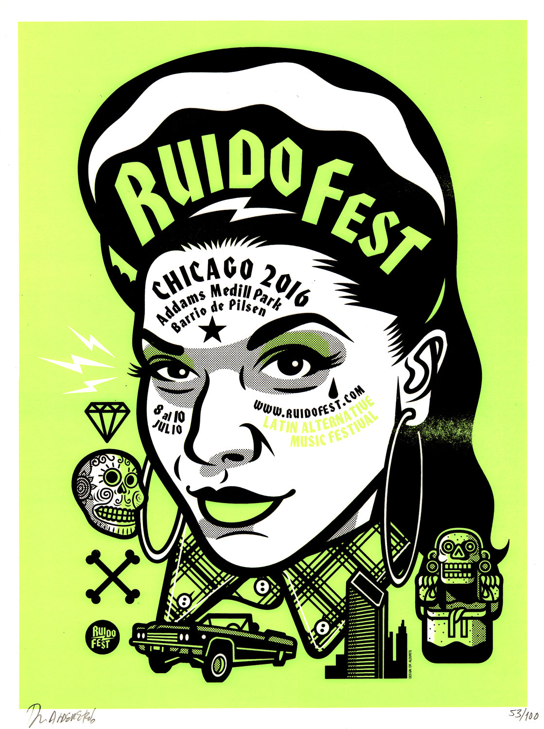 RudioFest 2016 Chola Girl Printed by CHema Skandal!