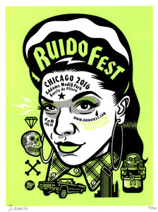 """RudioFest 2016 Chola Girl"" by Jorge Aldrete"