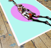 Load image into Gallery viewer, Six Rings Screen Print by Floppy Action