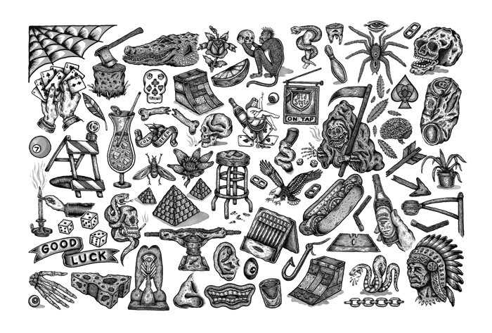 Flash Sheet 1 Print by Erik Lundquist