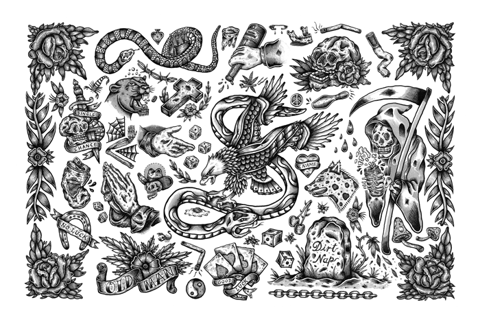 Flash Sheet 2 Print by Erik Lundquist