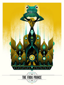 The Frog Prince Print by Delicious Design League