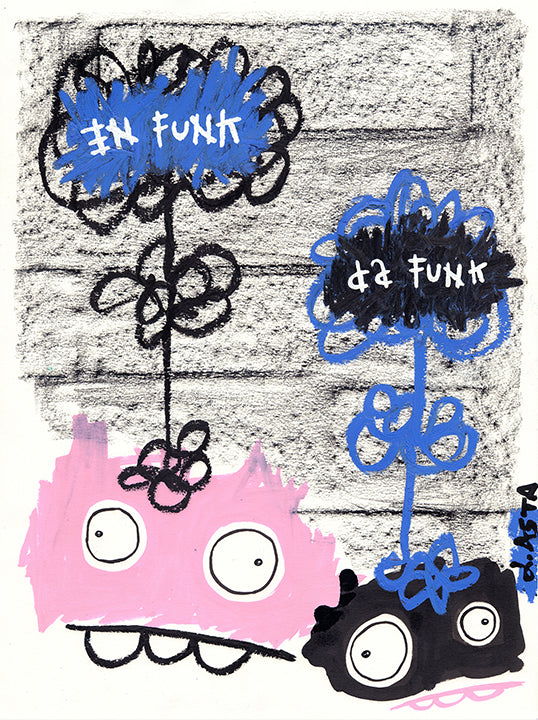 Funky Mind Stew Original by Lauren Asta