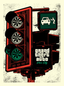 """GTA Vice City Variant"" by Chris Garofalo"